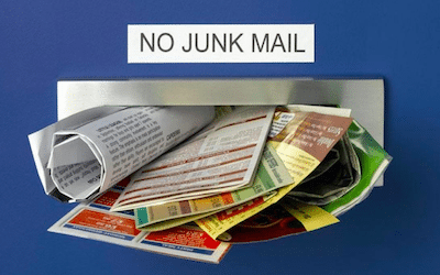 Throw out the mental junk mail