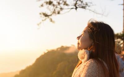 Reflect beautiful thoughts